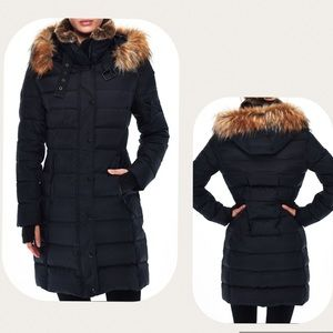 S13 Black Matte Uptown Puffer Coat Jacket